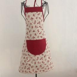 Kuchyňská zástěra Růžička