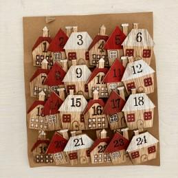 Adventný set drev.kolíčků