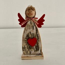 Anděl dřevo kůra