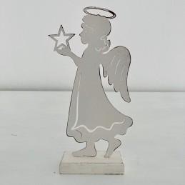 Anděl plech bílý