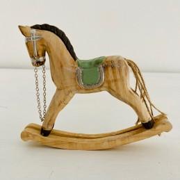 Houpací kůň přírodní