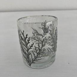 Svícen sklo stř.větvička
