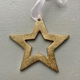 Hviezda zlatá kov