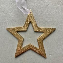 Hvězda zlatá kov