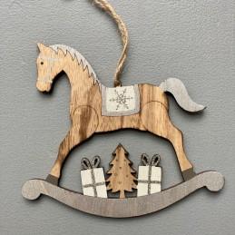 Kůň dřevo závěsný stř.