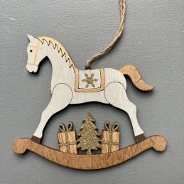 Kůň dřevo závěsný zl.