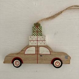 Ozdoba auto dřevo