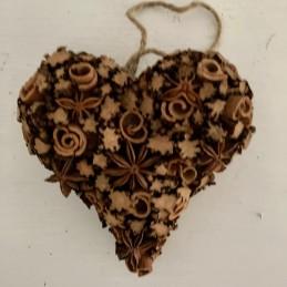 Srdce skořice+badyán