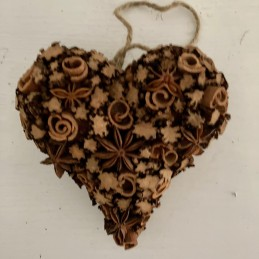 Srdce škorica+badián
