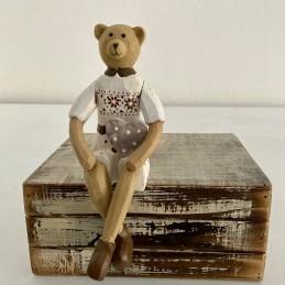 Medvídek sedící 15 cm
