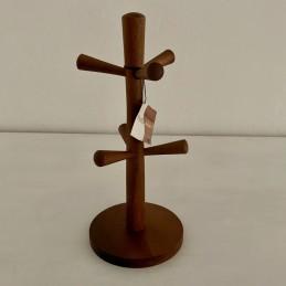 Dřevěný stojan na hrníčky...