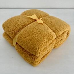 Deka Teddy žlutá 150x200 cm