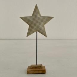 Hvězda smalt+dřevo