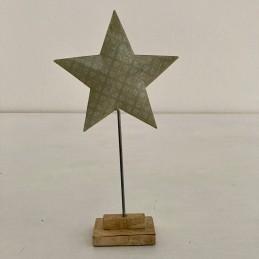 Hviezda smalt+drevo