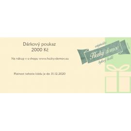 Dárkový e-poukaz 2000 Kč