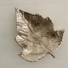 Mísa kov stříbrná list 19 cm