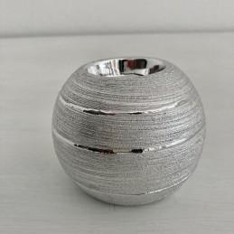 Svícen stříbrný 8,5 cm