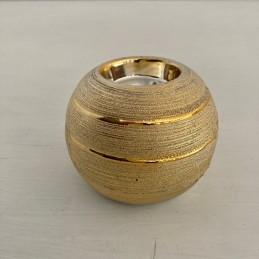 Svícen zlatý 8,5 cm