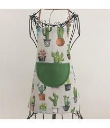 Dětská zástěrka Kaktus